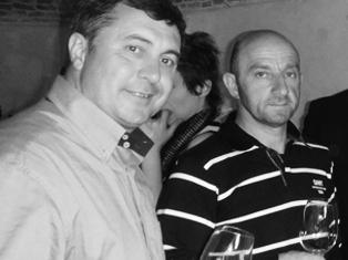 Claudio Rosso et Piero Nebiolo