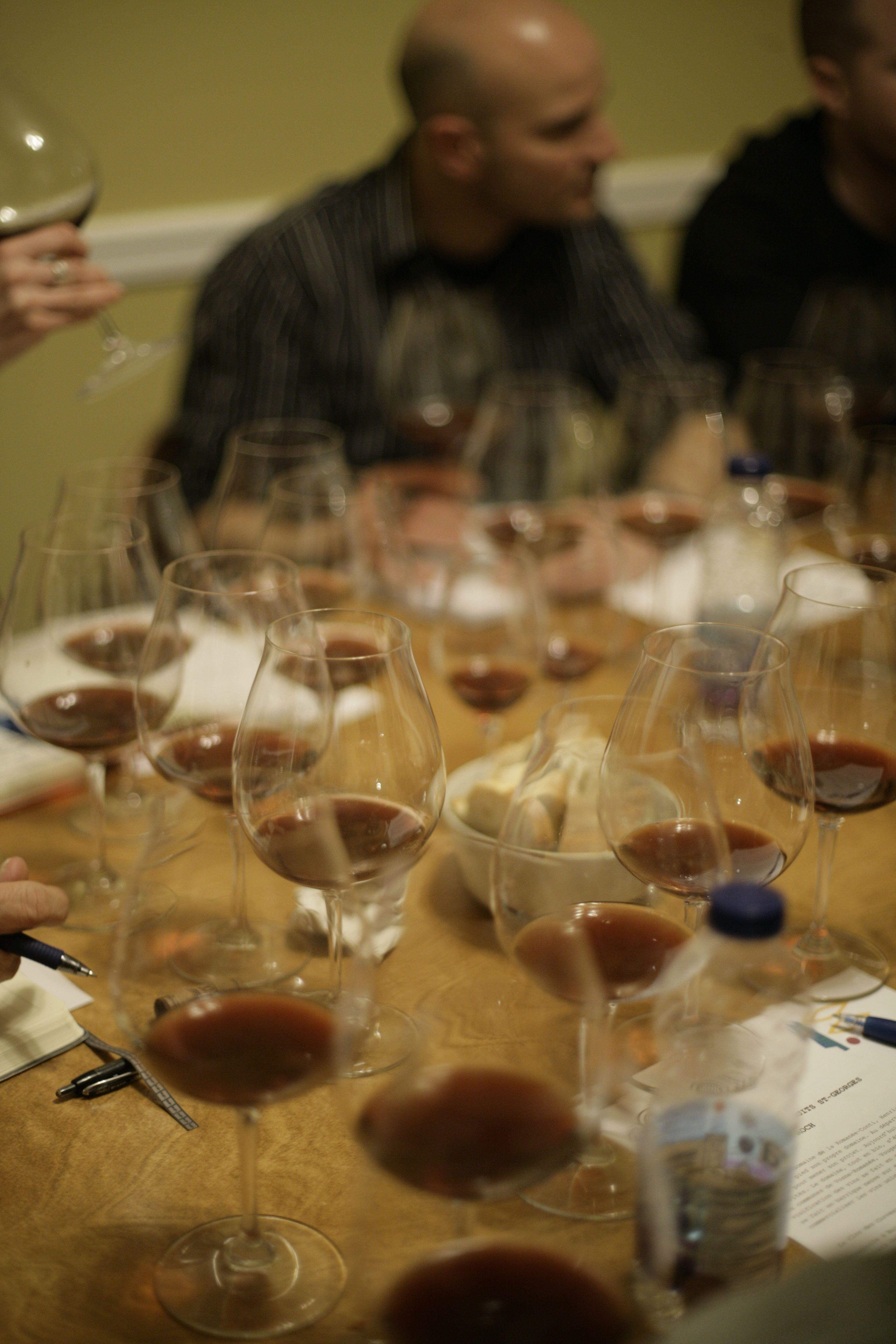 line up verres